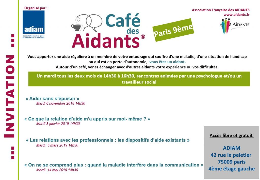 café des aidants Adiam
