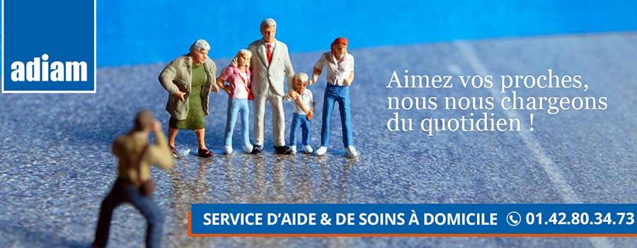 Association aide à domicile à Paris