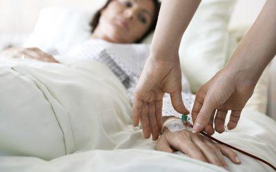 Les soins palliatifs avec l'assistance de soins infirmiers à domicile