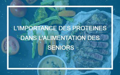 L'importance de l'apport des protéines dans l'alimentation des seniors