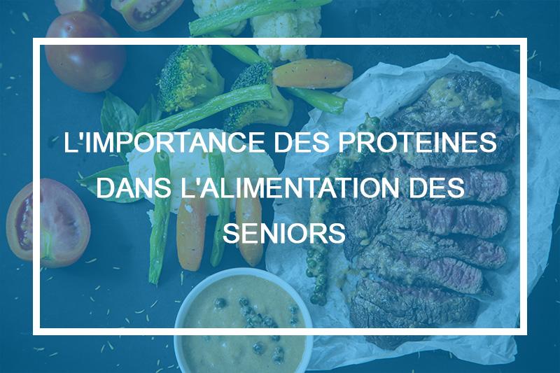 alimentation protéine senior