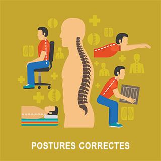 Bonne posture ostéoporose