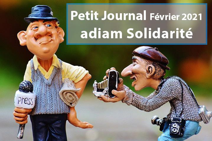 Petit Journal adiam solidarité – Février 2021