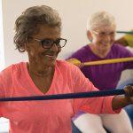 gym douce personne âgée