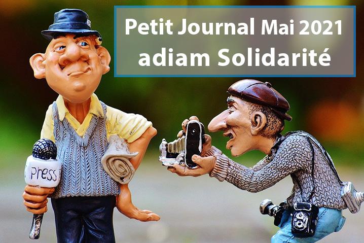 Petit Journal adiam solidarité – Mai 2021